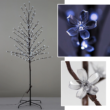 Led világító dekorációs sakura fa 180cn 200led
