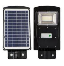 Napelemes, solar utcai, közvilágítási lámpa 20W