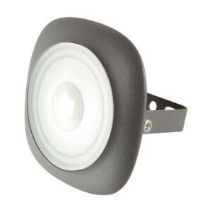 30 W LED fényvető, kör alakú, szürke, 2100 lm, 4500 K