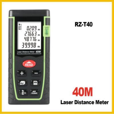 Lézeres távolságmérő 40 méterig