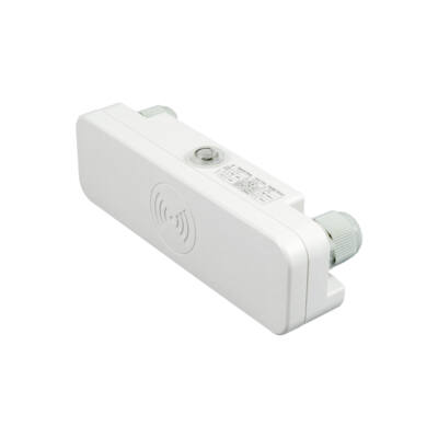 Mikrohullámú mozgásérzékelő fehér színben, IP65 védelem