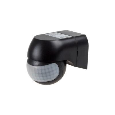 Mozgatható fejű infra mozgásérzékelő fekete, IP44