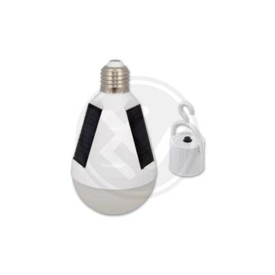 12W-os LED napelemes, izzó kapcsolóval