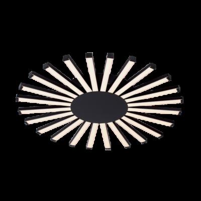 JOSEY MENNYEZETI LÁMPA LED 96W / 3000K D575XH50mm BLACK