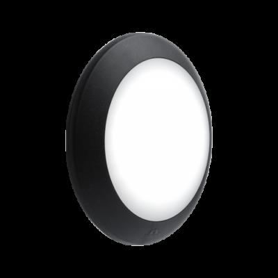 BERTA fali mennyezeti lámpatest E27 IP66 BLACK
