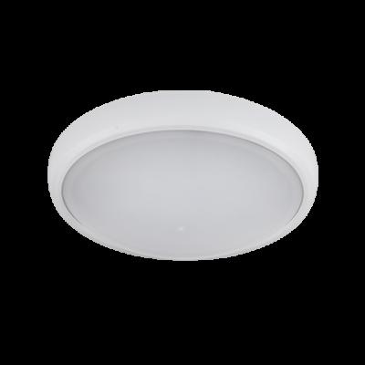 LED Lámpa , 12W , FALON KÍVÜLI , KEREK , TERMÉSZETES FEHÉR , IP54