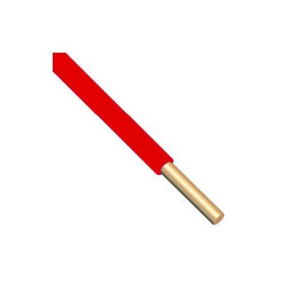 H07V-U 1x2,5 mm2 Piros PVC szigetelésű tömör réz erű M-Cu vezeték