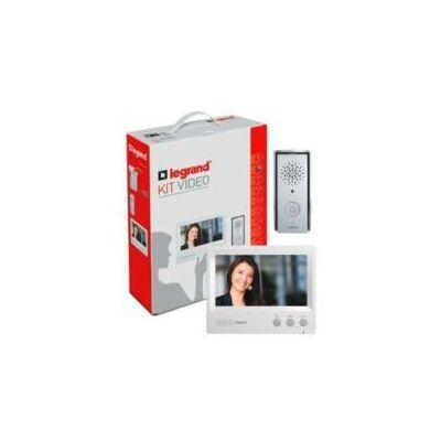"""Legrand 2 vezetékes színes videó kaputelefon szett 1 vagy 2 lakásos 4,3""""-os beltéri egységgel"""