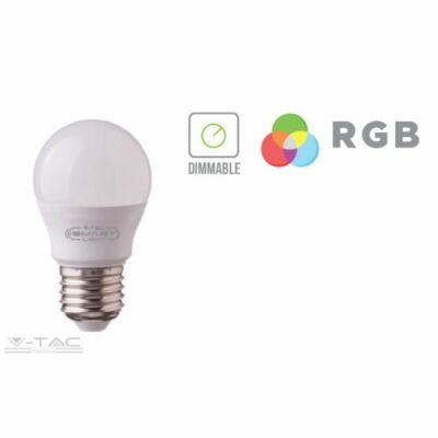 3,5W LED IZZÓ E27 G45 RGB+DW 4000K