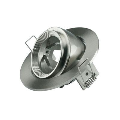 Zoom Fitting billenthető spot lámpatest, kör alakú, mattkróm