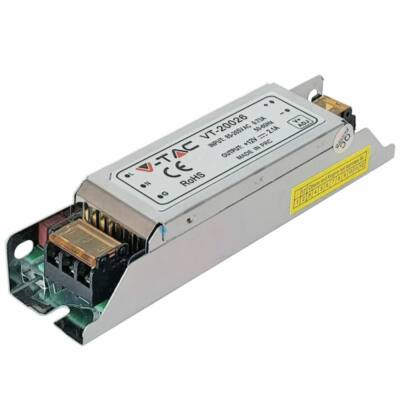 25W tápegység SLIM 12VDC IP20