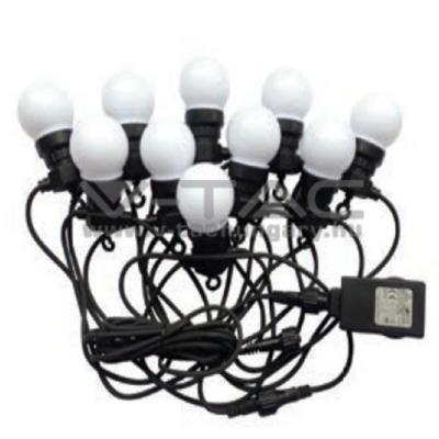 LED fényfüzér 3000K 10m