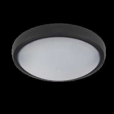 LED ELIPSA FALI LÁMPA, BRLED 6W FEKETE IP54