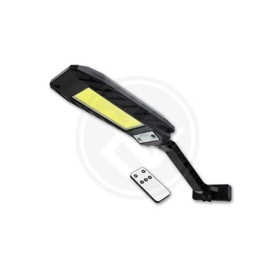 Szolár LED -es lámpa COB PIR érzékelő távirányító tartó
