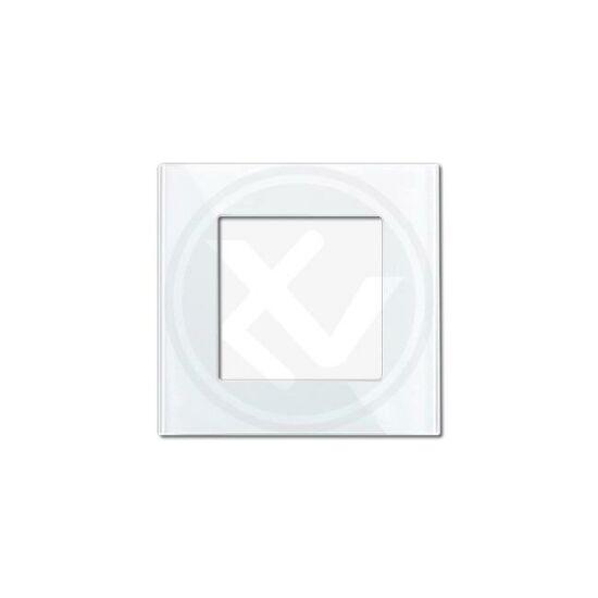 Egyes üveg keret fehér