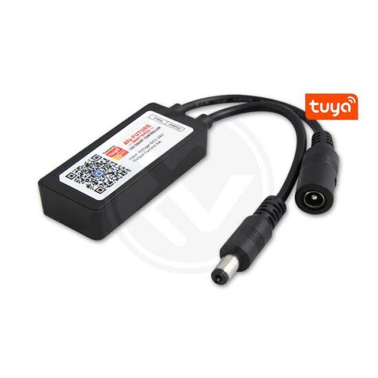 Smart Tuya 5-24V 6A mini DC LED fényerőszabályzó