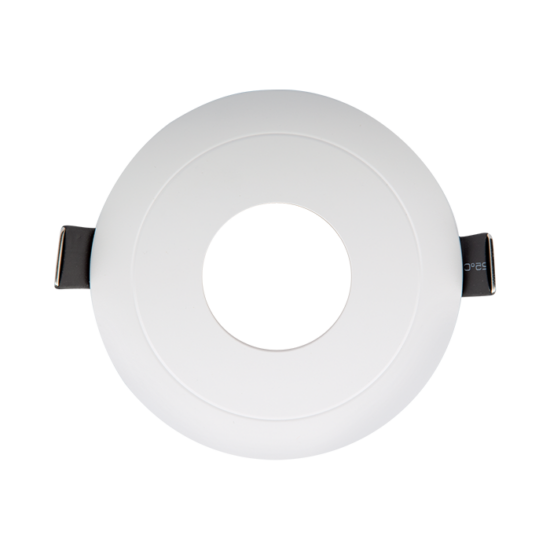 Round in middle downlight white 93x93