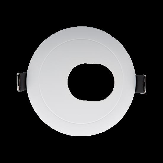 Round in one side , downlight white 93x93