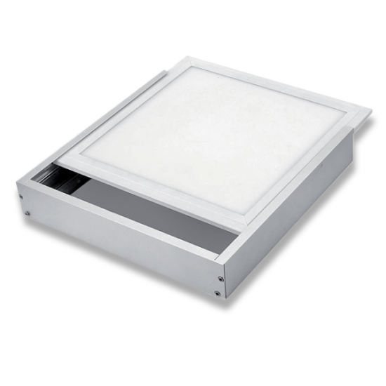 FRAME SURFACE MOUNT LED PANEL 595x595mm WHITE