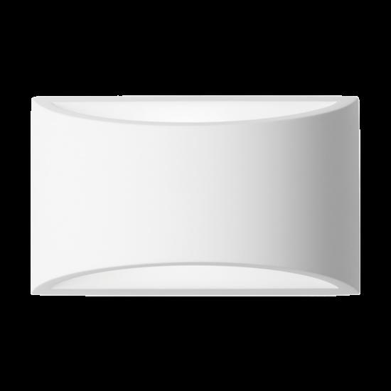 GYPSUM WALL LAMP E27 300x165x120 SURFACE
