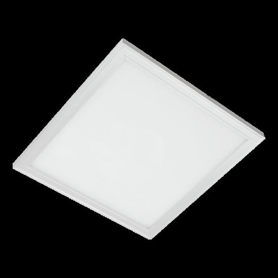 LED PANEL 45W 4000K-4300K 595/595 WHITE FRAME DIMMABLE.WHITE FRAME IP44