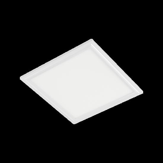 LED PANEL 48W 6400K 595x595mm IP44 WHITE FRAME