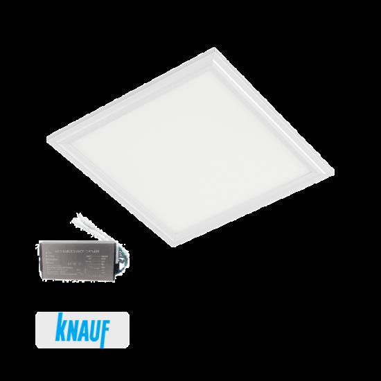 LED PANEL FOR DRYWALL 48W 6400K 595x595mm WHITE+EM