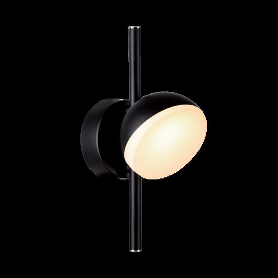OLIVIA FALI LÁMPA LED 7W/ 490lm/ 3000K FEKETE