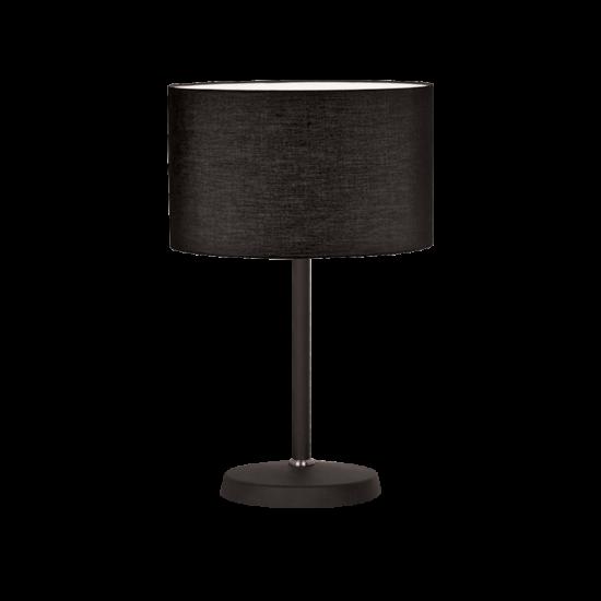TOMY TABLE LAMP 1XE27 DARK GREY D240X490mm