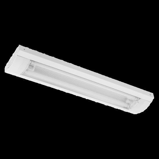 NEDA LÁMPATEST LED FÉNYCSŐVEL 600mm 2X9W 6400K