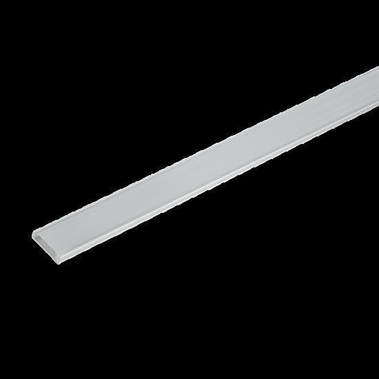 ELM6220/1 ALUMINIUM PROFIL LED SZALAGHOZ, MATT TAKARÓPROFIL, FELÜLETRE SZERELHETŐ 1 M