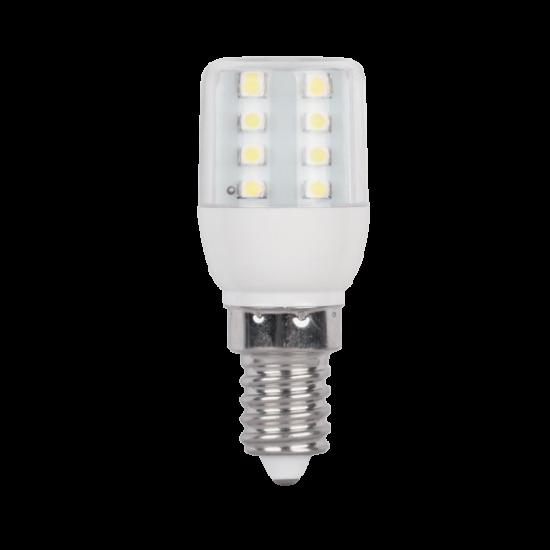 LED LÁMPA T25 16SMD3528 1W E14 230V MELEG FEHÉR