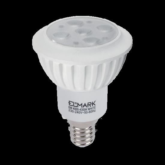 LED LÁMPA LED7 6W E14 230V FEHÉR