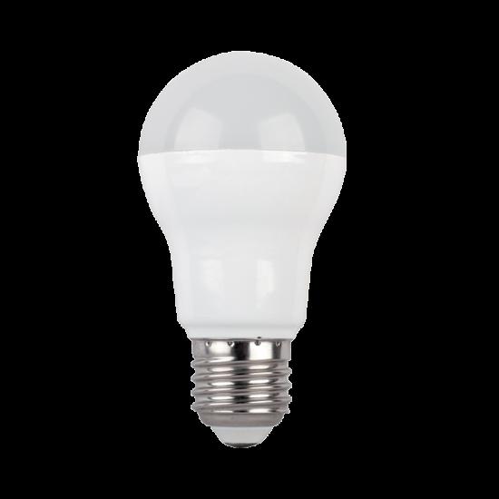 LED LÁMPA KÖRTE A60 SMD2835 8W E27 230V MELEG FEHÉR