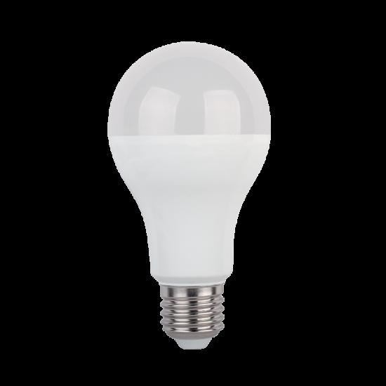 LED LÁMPA KÖRTE A60 SMD2835 12W E27 230V MELEG FEHÉR