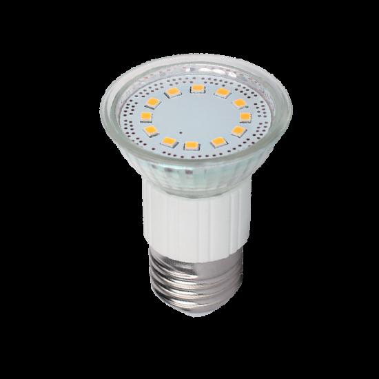 LED LÁMPA PAR16 SMD2835 3W E27 230V MELEG FEHÉR