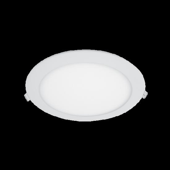 LED PANEL KEREK 24W 3000K D300/21mm