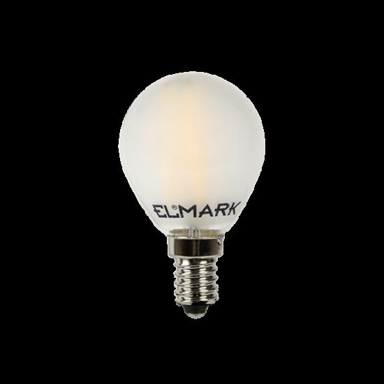 LED GLOBE G45 FILAMENT 5W E14 230V 2700K DIMMABLE