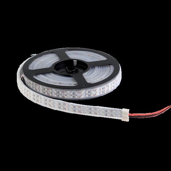 LED SZALAG LED1200 3528 12V/DC IP65 2X120PCS/1M MELEG FEHÉR