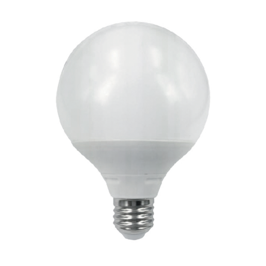 LED LÁMPA GÖMB G95 15W E27 230V FEHÉR