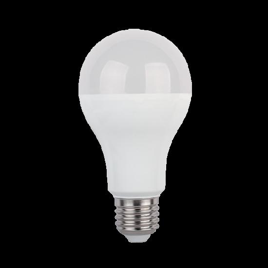 LED LÁMPA PEAR A80 15W E27 230V MELEG FEHÉR