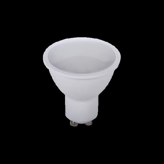 LED LÁMPA SMD5050 6W 120˚ GU10 230V KÉK