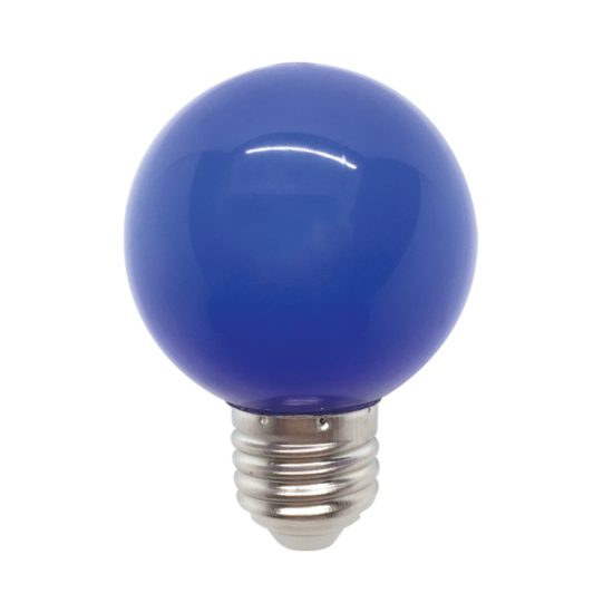 LED  GLOBE G45 3W E27 BLUE