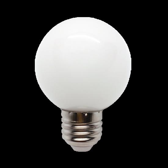 LED  GLOBE G45 3W E27 WHITE