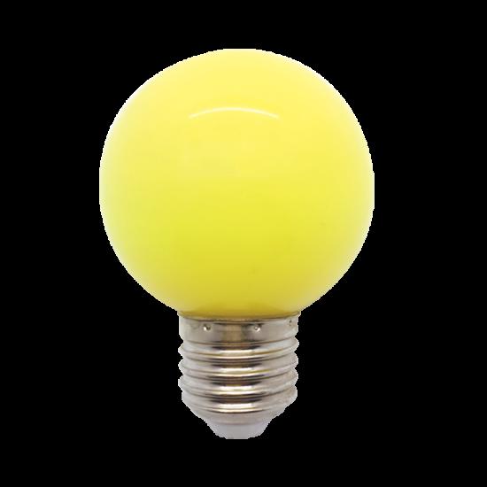 LED  GLOBE G45 3W E27 YELLOW