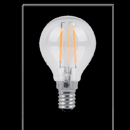 LED IZZÓ GLOBE P45 FILAMENT 5W E14 230V 2700K