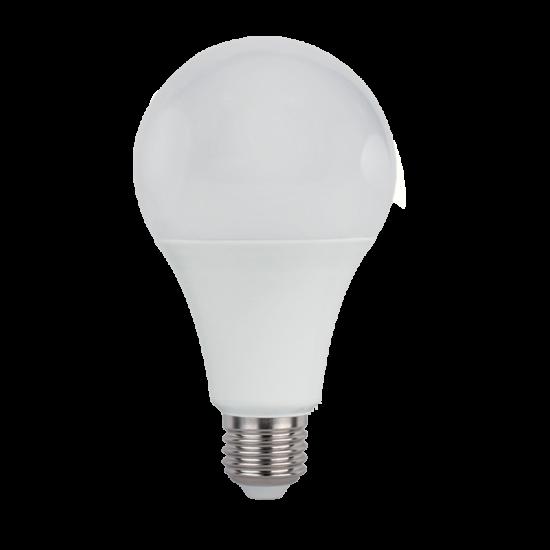LED PEAR A65 SMD2835 18W E27 230V 2700K
