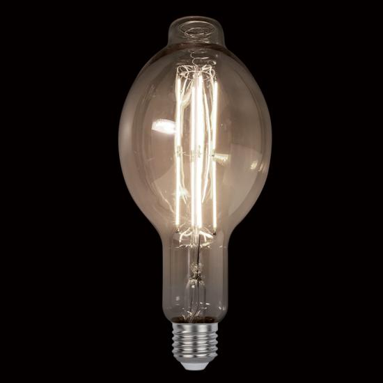 VINTAGE LAMP DIMMABLE 8W E27 D120 2800-3200K SMOKE