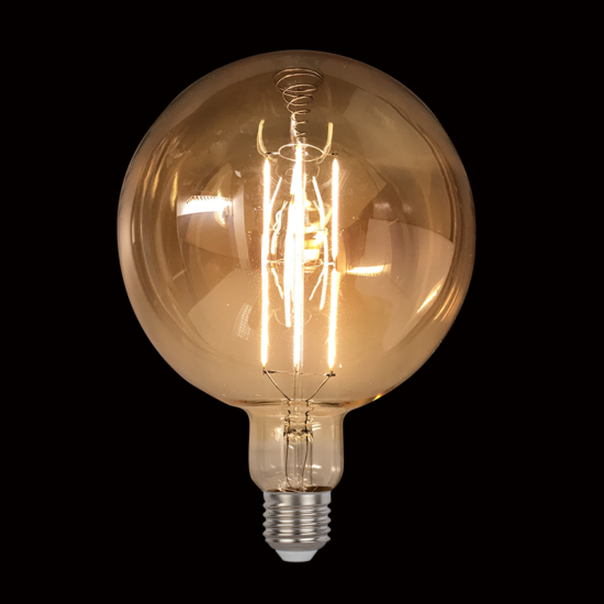 VINTAGE LAMP DIMMABLE 8W E27 D200 2800-3200K GOLD