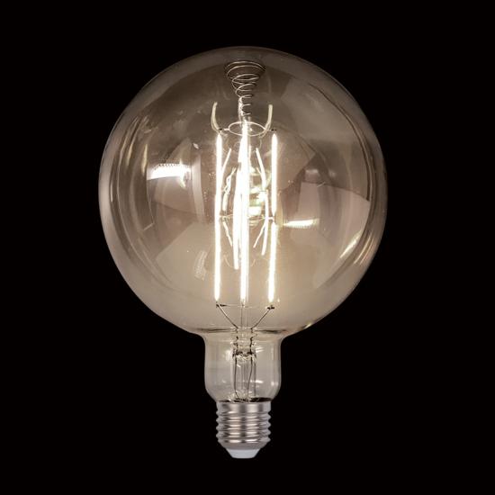 VINTAGE LAMP DIMMABLE 8W E27 D200 2800-3200K SMOKE